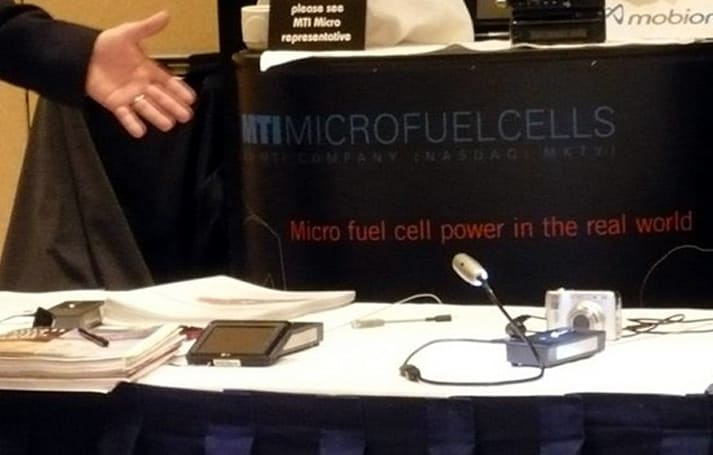 MTI Micro showcases fuel cell-powered GPS prototype