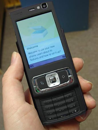Nokia's 8GB N95 photographed in the wild