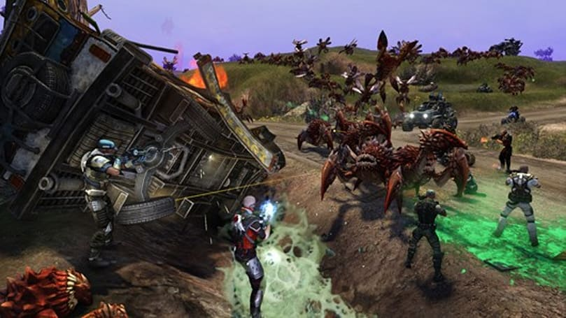 Trion hopes you'll pre-order some Defiance DLC along with your Defiance pre-order