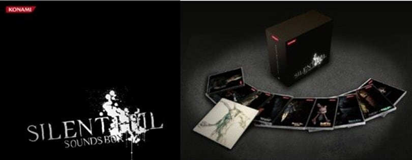 Silent Hill soundtrack collection is frighteningly huge
