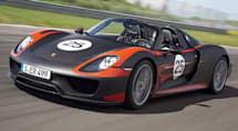 Porsche shows 918 Spyder in production form
