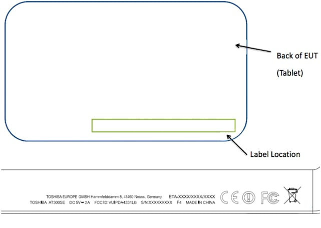 Toshiba Excite 10SE / AT300SE gets caught visiting the FCC, may tout Jelly Bean