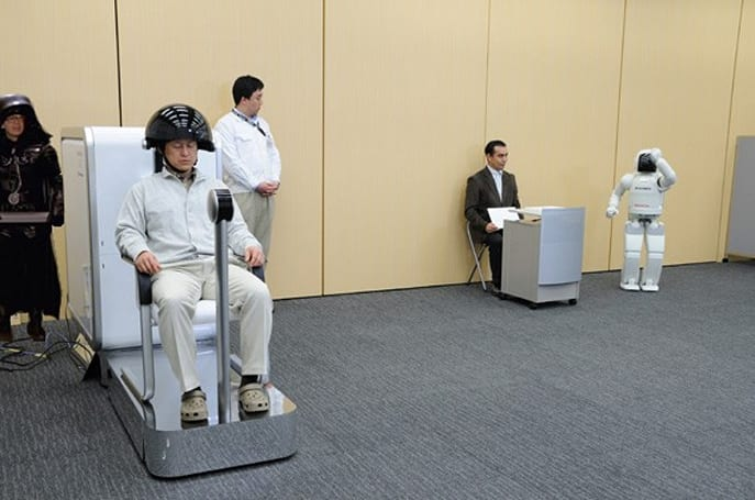 Honda's ASIMO could be thought controlled in Spaceballs 2