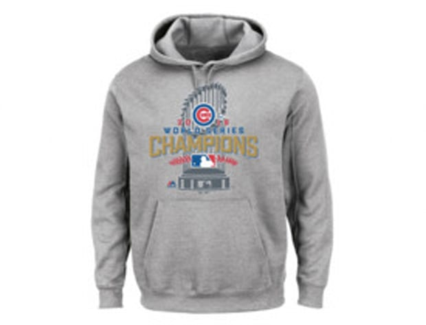 World Series champions locker room hoodie