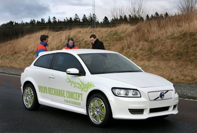 Volvo's ReCharge plug-in hybrid concept: this time it's for serious