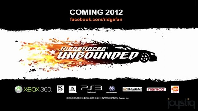 Ridge Racer Unbounded colliding with Xbox 360, PS3 and PC in 2012