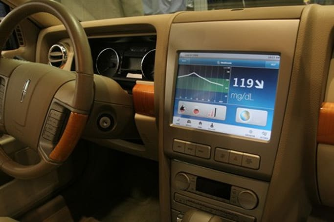 Medtronic Diabetes concept car monitors glucose levels in-dash