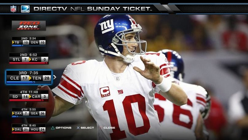 DirecTV brings NFL Sunday Ticket to Android tablets and the PS3 this fall