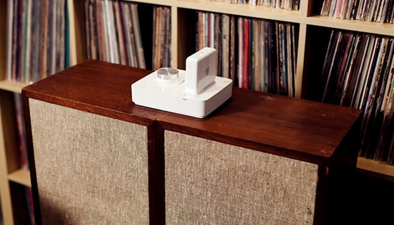 Griffin's Twenty Audio Amp pairs up with your AirPort Express, enables AirPlay for any 2.1 speakers