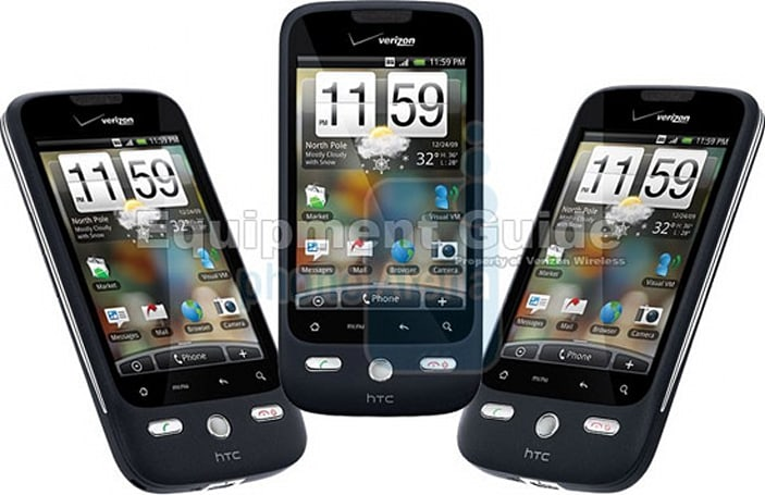 HTC Droid Eris peeks its head out once more, shows off 5MP camera