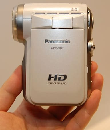 Panasonic's HDC-SD7 dons title of world's smallest HD camcorder
