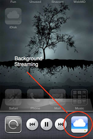 Apple slyly enables background iDisk music streaming in iOS 4