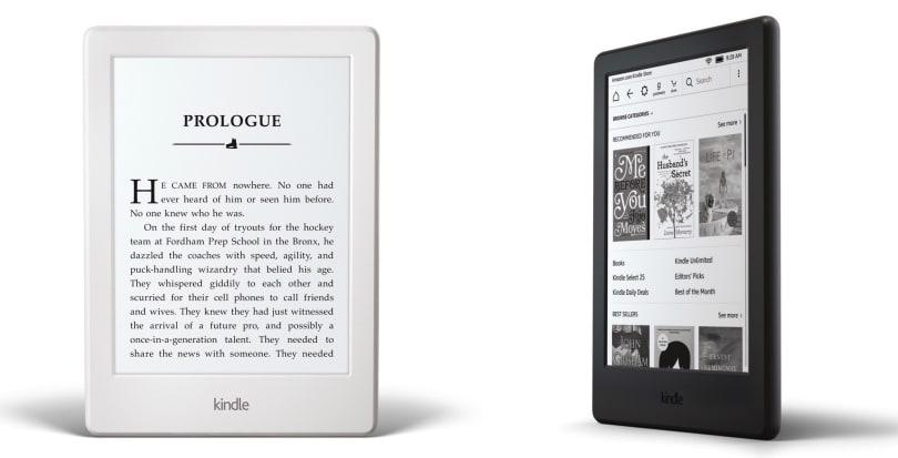 全新入门款 Kindle 变得更加轻薄,售价 558 元