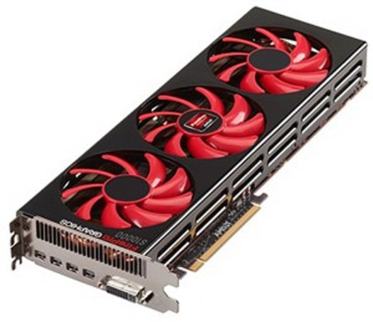 AMD's dual-GPU FirePro S10000 gobbles watts, spews out nearly 6 TFLOPs for server graphics