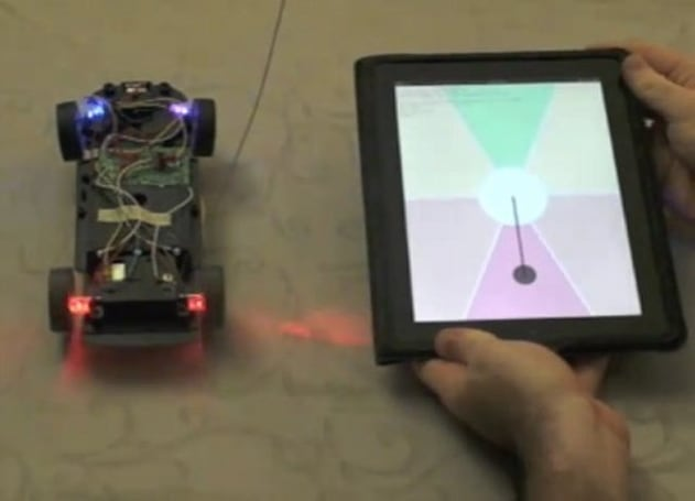 Man steers R/C car with his hands, not to mention an HTML5-based web app (video)