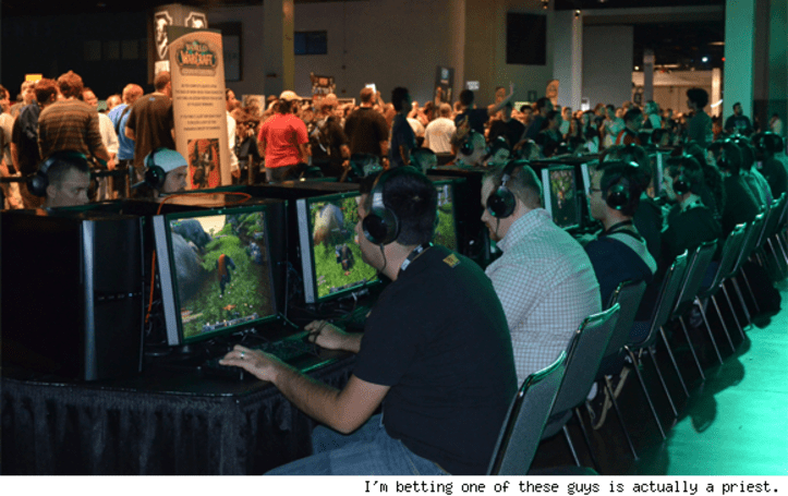 Spiritual Guidance: The priests of BlizzCon 2011