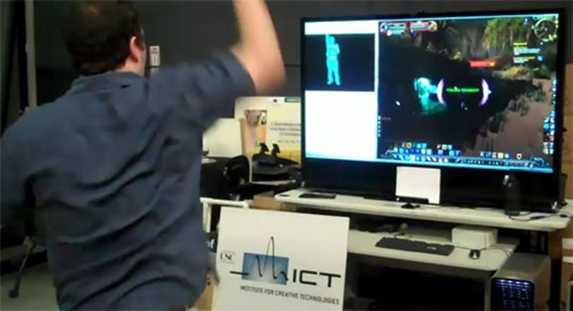 Move around in your favorite MMO with Kinect