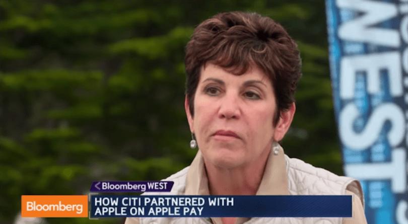 Citibank's Deborah Hopkins talks to Bloomberg about Apple Pay partnership