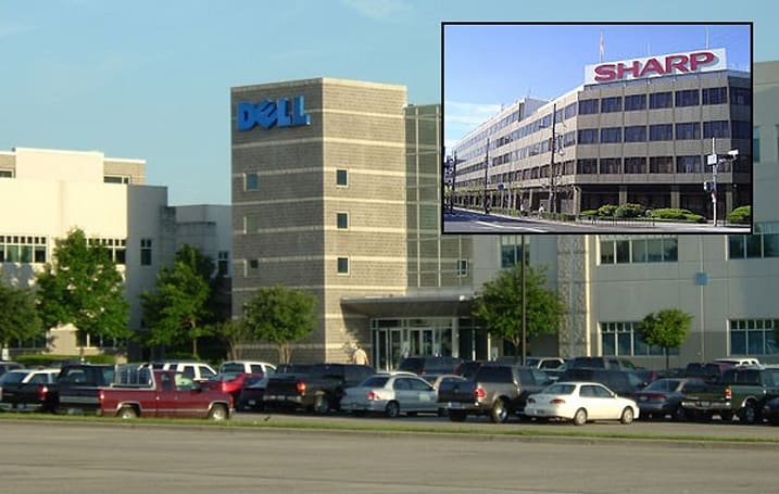 Sharp settles LCD price fixing dispute with Dell and others for $200 million