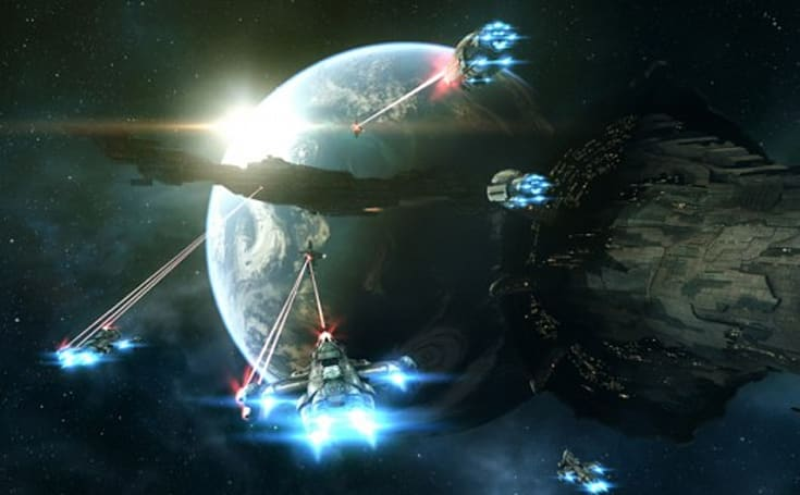 EVE Online services restored
