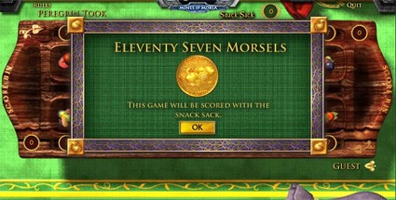Hobbits will enjoy the new Mines of Moria web game