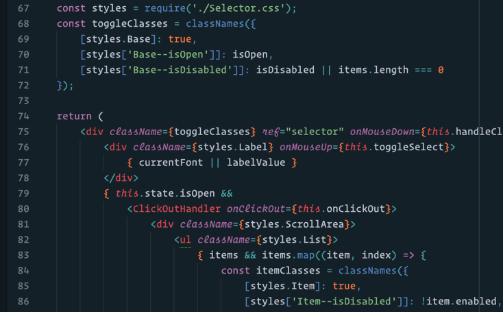 'Operator' is a font designed to make coding easier