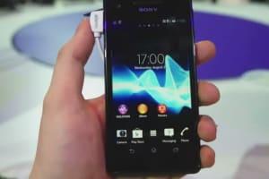 Sony Xperia V Hands-on - IFA 2012
