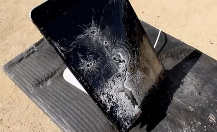This poor little iPad mini has had a tougher life than you