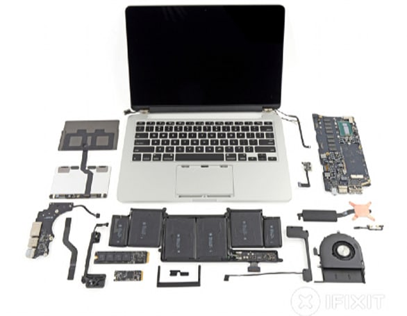 iFixit tears down new MacBook Pros