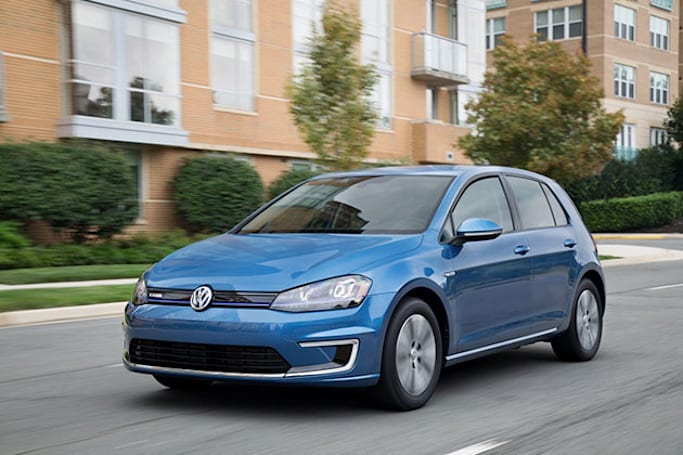 Volkswagen's e-Golf to hit US highways this fall with a $35,445 price tag