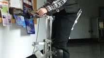 NCKU's i-Transport robot wheelchair helps riders reach full height