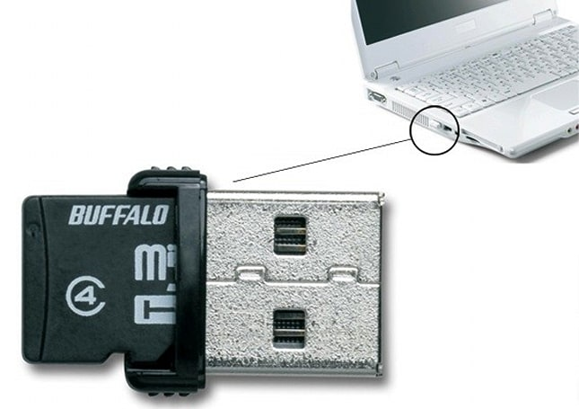 Buffalo adds 16GB microSD card / reader to its line of incredibly small USB memory