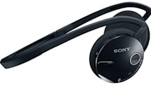 Sony's Bluetooth DR-BT21G wraparound headset does A2DP, AVRCP