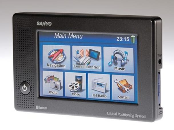"Sanyo announces two new ""Easy Street"" GPS receivers for the Easy Rider"