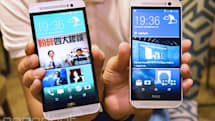 Hands-on with HTC's plastic One: Flagship features for half the price