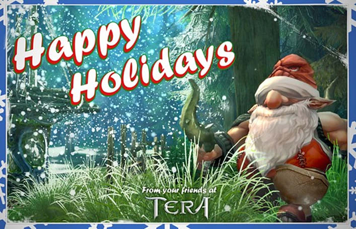 Happy Holiday screenshots from TERA