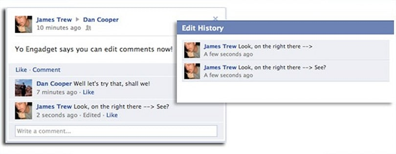 Facebook rolls out comment editing, embraces your change of heart