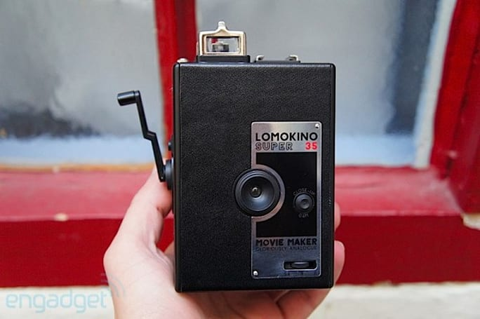 Lomography LomoKino Super 35 Movie Maker hands-on (video)