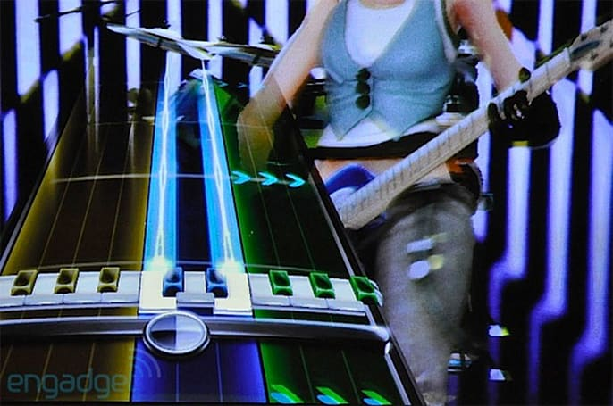 Rock Band 3 crashing into living rooms on October 26