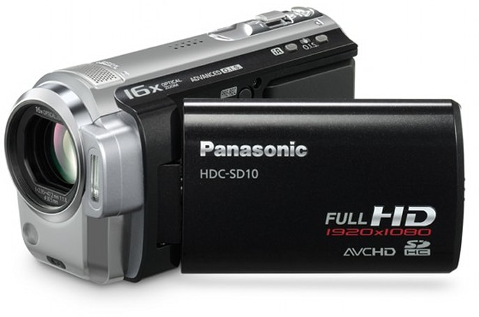 Panasonic's HDC-SD10 and HDC-TM10 HD camcorders get US price, release date