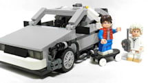 Back to the Future DeLorean reaches Lego form in mid-2013, likely won't reach 88MPH (video)