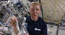 Here's how you make coffee in the International Space Station