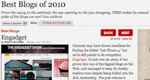 Time names Engadget one of the best blogs of 2010
