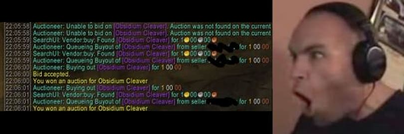 Gold Capped: Dealing with Neutral Auction House sniping