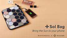 このオシャレなバッグ、太陽光でスマホを充電できるんです。税込3万円台で予約開始「SOL BAG」