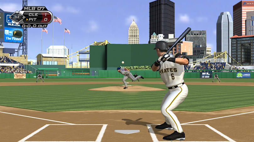 SGD '07: Some fancy baseball action from MLB '07 The Show