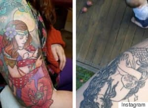 Moms Take Breastfeeding To A Whole New Level With These Tattoos