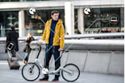 Folding electric bike talks to all your other smart devices