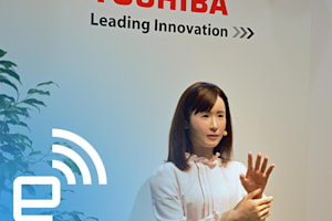 Meet Aiko: Toshiba's New Android Receptionist