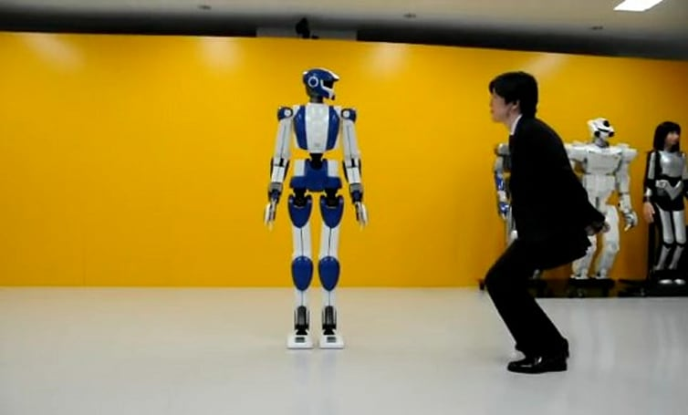 Impressive HRP-4 robot will make you bow in deference (video)